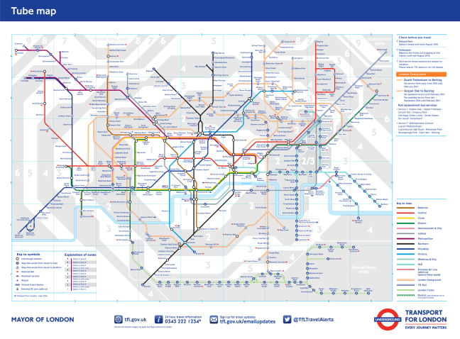 What tube maps tell us about adhd and the brain – Mind the