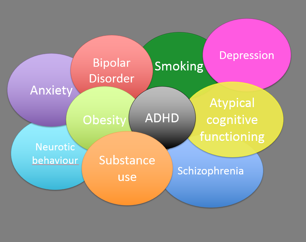 First Genetic Map Of Attention Deficit Hyperactivity Disorder >> Do Genes Explain The Overlap Between Adhd And Other